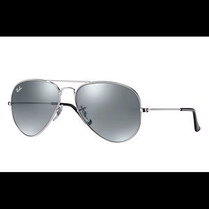 Ray-Ban Aviator Large Metal Silver Sunglasses